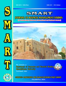 SMART Journal of Business Management Studies  ::